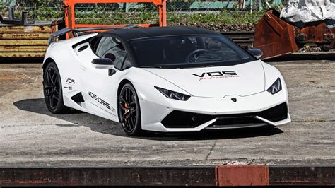 Performance Car Wallpaper by 2016 Vos Performance Lamborghini Huracan Edition