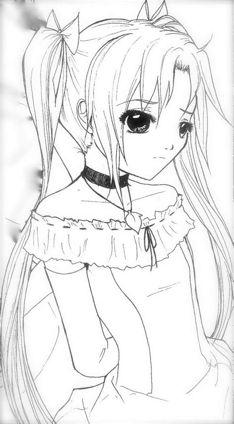 Anime Kleurplaat by Anime Colouring Pages Www Sd Ram Us