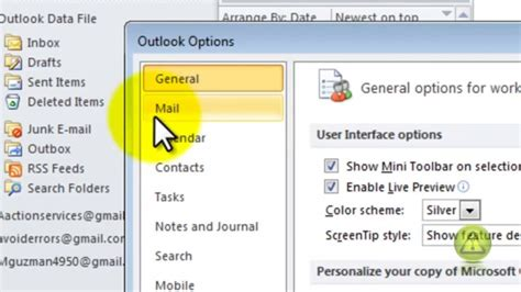 enable read and delivery receipt confirmation outlook 2010 youtube