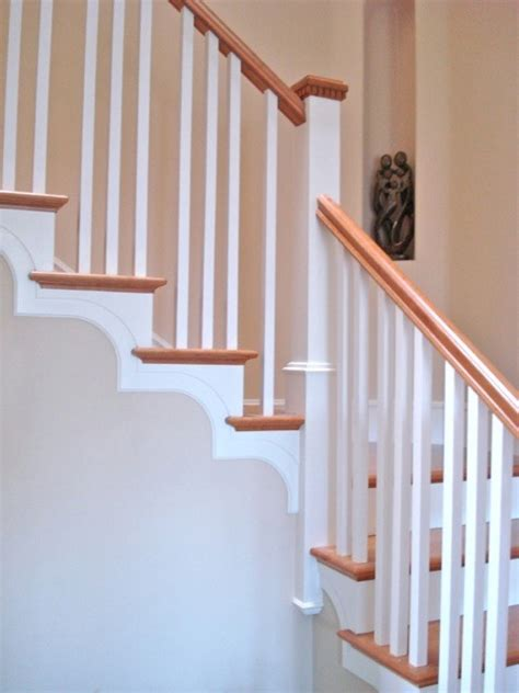 traditional stair  tread brackets traditional