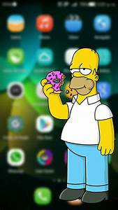 Homero Simpson Fondo Para Huawei G Play Mini