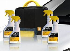 Kit Nettoyage Voiture : kit de nettoyage pour voiture certifi renault clean box ~ Melissatoandfro.com Idées de Décoration