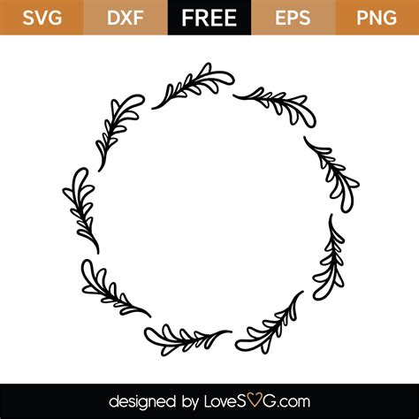 Here you can paste a photo on the page disclosed album, and in the. Free Monogram Frame SVG Cut File | Lovesvg.com