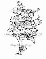 Flapper 1940s Movie Star Coloring Butterfly Beauty Woman Stars Clip Bugs Fantasy Flower sketch template
