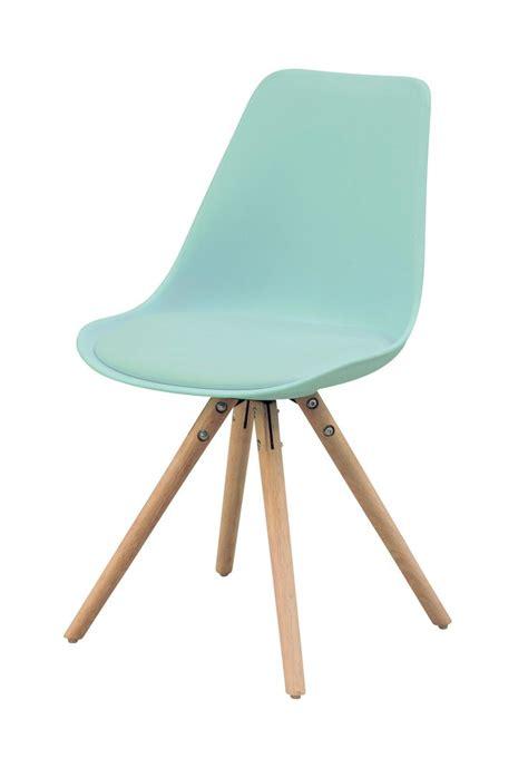 chaise a but but chaise oslo vert d 39 eau design scandinave existe en 7