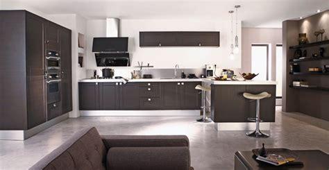 cuisine et salon moderne déco salon cuisine moderne exemples d 39 aménagements