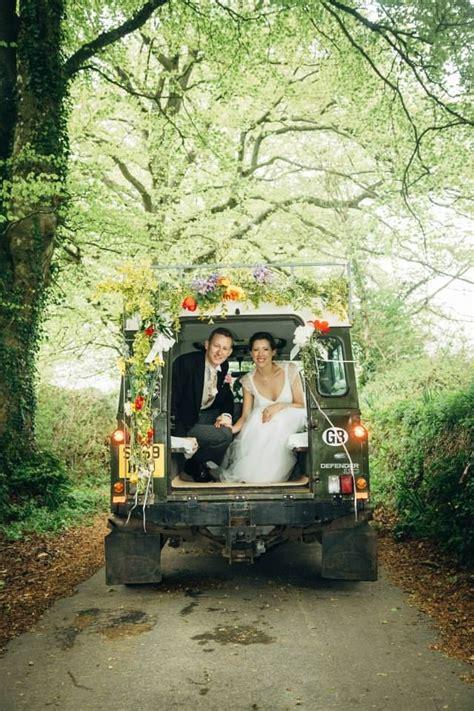 turned  wedding car uncles land