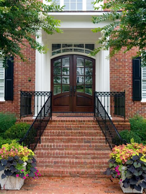 front entry stairs photos hgtv