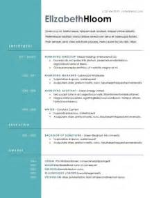best modern resume templates 15 modern design resume templates you can use today
