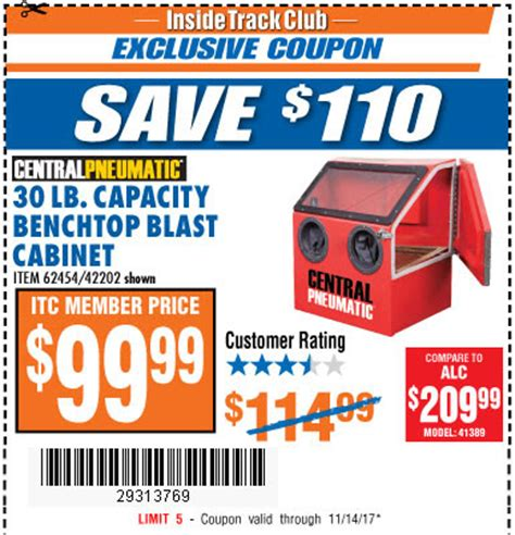 Abrasive Blast Cabinet Harbor Freight by Harbor Freight Tools Coupon Database Free Coupons 25