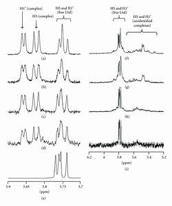 1h Nmr Spectra Of Uridine  H5 And H1 U2032  At Various