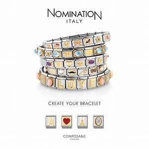 Nomination Love - Raised Heart Charm 030116-0 01 | T.H ...
