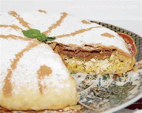 cuisine marocaine pastilla au poulet pastilla marocaine au poulet http culinaireamoula
