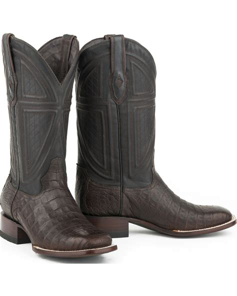 Boot Barn Houston by Stetson S Kaycee Caiman Belly V Boots Boot