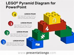 Lego Pyramid Diagram For Powerpoint