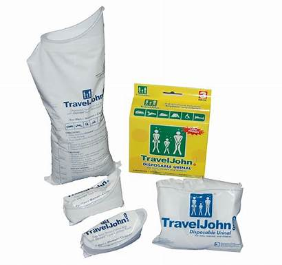 Travel Disposable John Urinal Traveljohn Bags Flyinsite