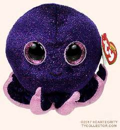 inky ty beanie boo octopus