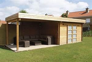 Abri de jardin ELLA 69 + 82 M2 Abris jardins chalets bois Aménagement extérieur bois Pessac
