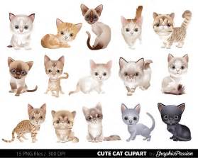 Cats and Kittens Clip Art