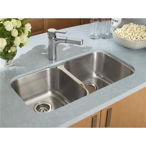 blanco stainless steel sink cleaner blanco homestyle 2 0 undermount stainless steel sink
