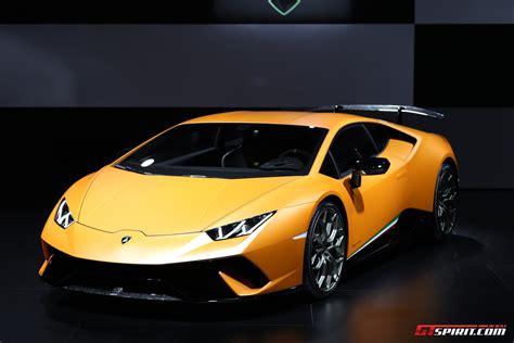 Geneva 2017 Lamborghini Huracan Performante Gtspirit