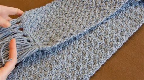 crochet scarf tutorial  easy elegant  simple