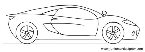 cartoon sports car side view car drawing tutorial sports car side view art projects