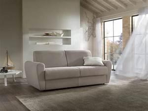 canape lit a trois places sven felis couvert en tissu 100 With tapis de gym avec canapé lit trois places