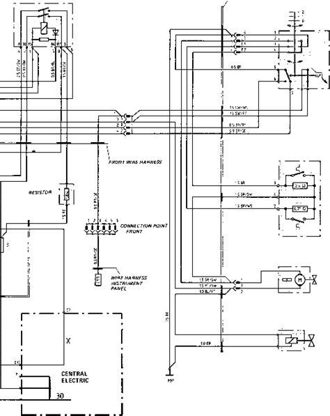 944 Porsche Ac Wiring Diagram by Wiring Diagram Type 924 S Model 87 Sheet Porsche 944