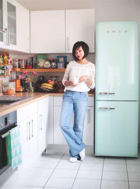 cuisine avec frigo smeg les 25 meilleures idées concernant frigo smeg sur