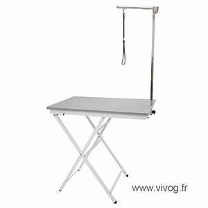 Grande Table Pliante : grande table pliante de toilettage pour concours vivog ~ Teatrodelosmanantiales.com Idées de Décoration