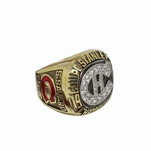 1986 Montreal Canadiens Stanley Cup Championship Ring ...