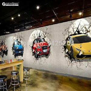 Aliexpress.com : Buy Great wall Custom 3d car broken wall ...