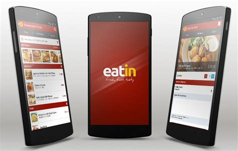application android cuisine eatin android app template