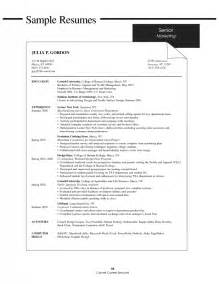 resume for college students still in school sles of