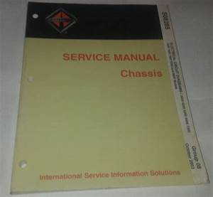 International Service Manual Chassis Electrical Circuit
