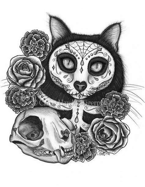 fantasy cat art  tigerpixie  etsy images