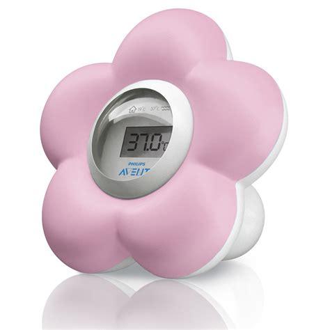température chambre de bébé thermometre bébé de bain et chambre de avent philips