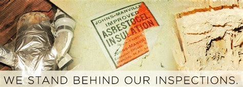 asbestos testing  home inspection