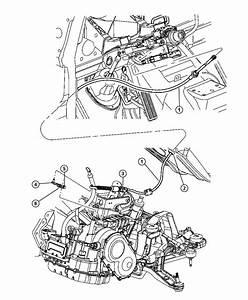 2005 Dodge Grand Caravan Lever  Manual Control