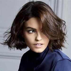 Coupes Cheveux Mi Longs 2018 : coiffures mi longues tendances automne hiver 2018 2019 pour cheveux mi longs page 2 ~ Melissatoandfro.com Idées de Décoration