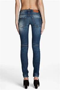 Dsquaredu00b2 Super Skinny Low Rise Jeans in Blue | Lyst