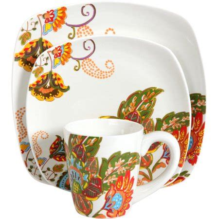 Better Homes And Garden Dishes by Better Homes And Gardens 16 Floral Spray Dinnerware
