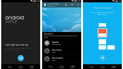 apps for android wear pushes out android wear android app and supported