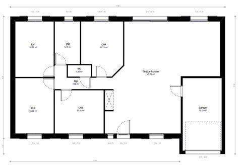 norme gaz cuisine plan maison individuelle 4 chambres 14 habitat concept