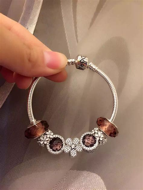 pandora sterling silver charm bracelet cb pandora