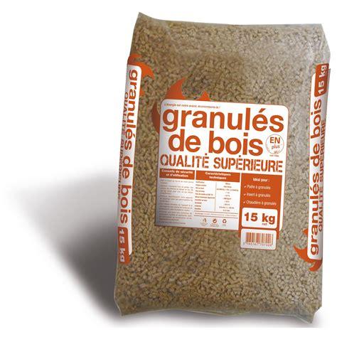 prix granules de bois granul 233 s de bois en sac 15 kg leroy merlin