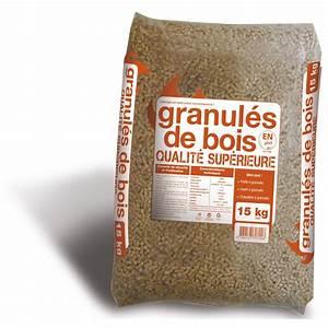 Granule Pour Poele Pas Cher : granul s de bois en sac 15 kg leroy merlin ~ Dailycaller-alerts.com Idées de Décoration