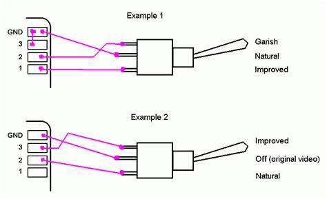 nesrgb kit toggle switch