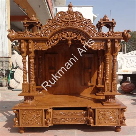 code  wooden carved teakwood temple mandir furniture